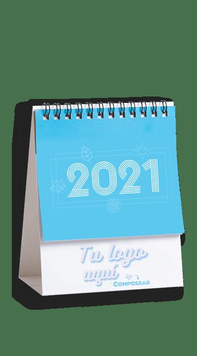 calendario economico 2021 personalizable con tu logo de empresa
